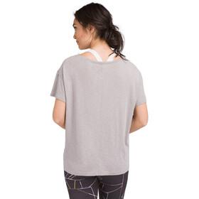 Prana Chez Camiseta Mujer, heather grey breathe